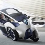 Toyota i-Road: wendbaar vervoer voor twee