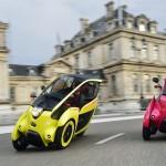 Urban car sharing: de Toyota i-Road
