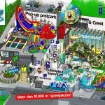 Op 20 juli opent het eerste Pop-up pretpark van Nederland in Zeeland