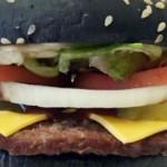 Burger King's zwarte Halloween Whopper