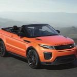 Europese première Range Rover Evoque Convertible