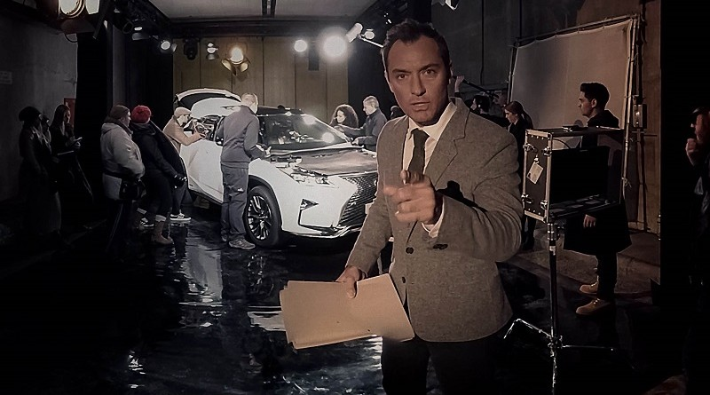 Jude Law in unieke 360 gradenvideo van dé Lexus experienceshow: 'The Life RX'