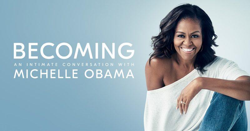 Michelle Obama met boektour naar Nederland